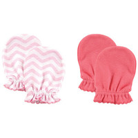 Luvable Friends 2-Pack Scratch Mittens | Affordable Infant Clothing