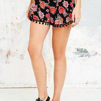 Staring at Stars Pom Pom Trim Shorts - Urban Outfitters