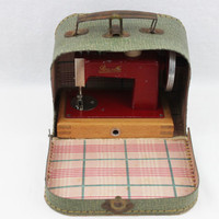 Antique Rossella Miniature Sewing Machine, Toy Sewing Machine