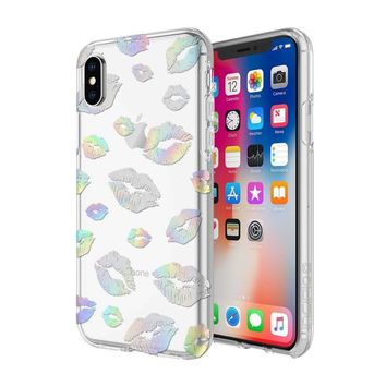 INCIPIO HOLOGRAPHIC KISS CLASSIC DESIGN SERIES CASE FOR IPHONE X