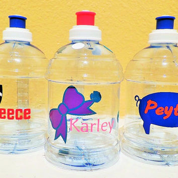 Personalized Kids 18oz Water Bottle: Great for a Birthday Gift, Party Favor, Sports, or School- BPA free!