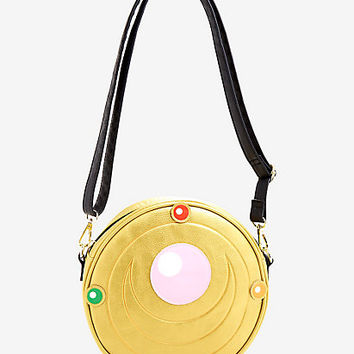 Loungefly Sailor Moon Transformation Brooch Crossbody Bag