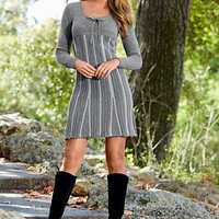 Empire Sweater Dress