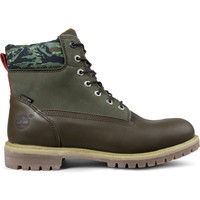 Black Scale Timberland x Black Scale Olive Green 6-inch Premium Boots | HYPEBEAST Store.