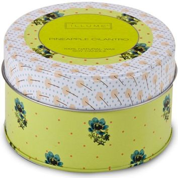 Pineapple Cilantro Retro Tin Candle