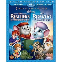 The Rescuers and The Rescuers Down Under - 3-Disc Set | Disney Store