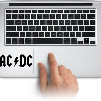 ACDC Logo Laptop Car Vinyl Sticker Decal Bumper Sticker for Auto Cars Trucks Windshield Custom Walls Made in US (Message for Color)