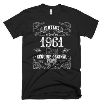 Men's Born in 1961 57 years old T-shirt