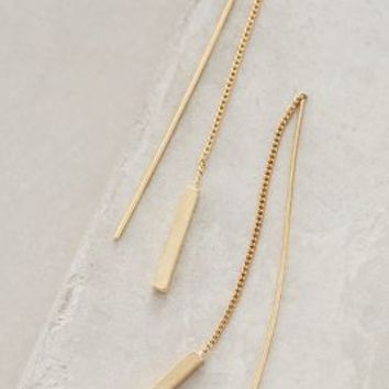 Jules Smith Threaded Amalur Earrings in Gold Size: All Earrings