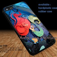 3D Art Paper Ariel The Little Mermaid iPhone 7 7+ 6s 6 Cases Samsung Galaxy S8 S7 edge S6 S5 NOTE 5 4