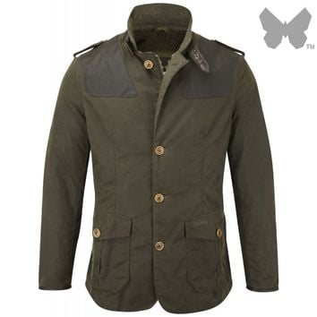 Barbour Men's Wyton Jacket – Olive MWX0710OL51 - Mens - Barbour - Our Brands | Country Attire