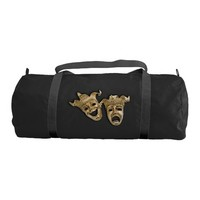 Comedy and Tragedy Theater Gym Duffel Bag