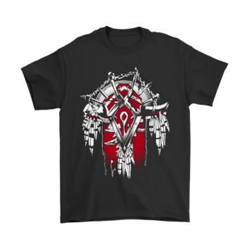 ONETOW World Of Warcraft Banner Of The Horde Shirts