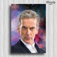 12th doctor who poster Peter Capaldi