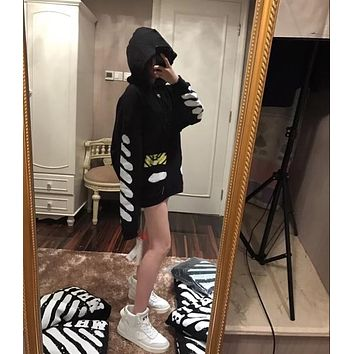 OFF-WHITETROND LIFE OW17SS Hoodie Sweater S-XL