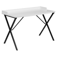 Belnick Writing Desk - White