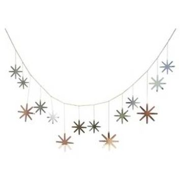 Metal Snowflake Garland - Threshold™