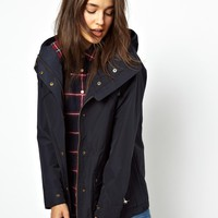 Jack Wills | Jack Wills Parka With Checked Lining at ASOS