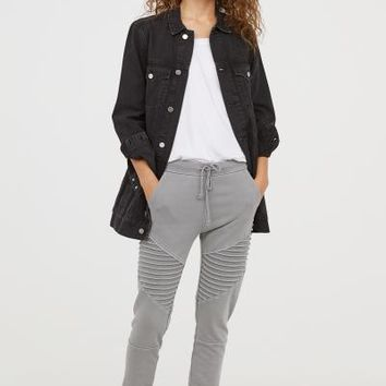 Biker Joggers - Grey - Ladies | H&M US