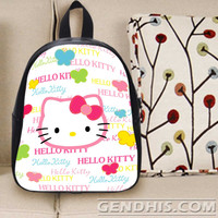 Hello Kitty 3 301 Custom Bag / School Bag / Childrent Bag / Custom School Bag