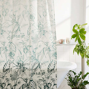 Forest Toile Shower Curtain - Urban Outfitters