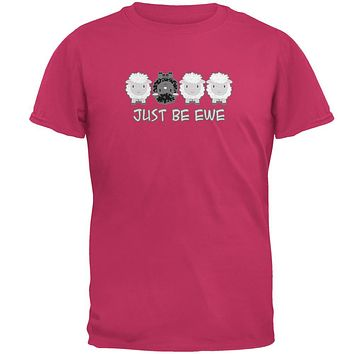 Just Be You Ewe Black Sheep Mens T Shirt