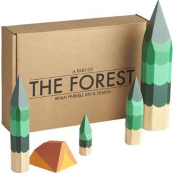 Set Of 5 The Forest Set