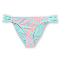 Damsel Tryst Pastel Tribal Side Strap Bikini Bottom
