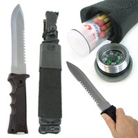 Whetstone  14 Inch Heavy Duty Survival Knife w- Plastic Mold
