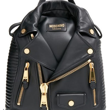 'Biker Jacket' Backpack