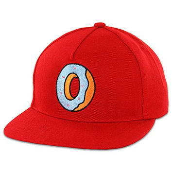 Odd Future Single Donut Snapback (Red) Hat Cap