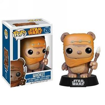 Funko Pop Star Wars: Wicket Vinyl Figure