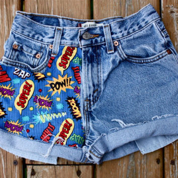 Superhero Sayings by Spikes and Seams
