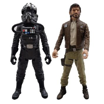3.75'' Star Wars Rogue One Tie Fighter Pilot Figure Imperial Trooper Action Figure Model Stormtrooper Toys for Children Gift