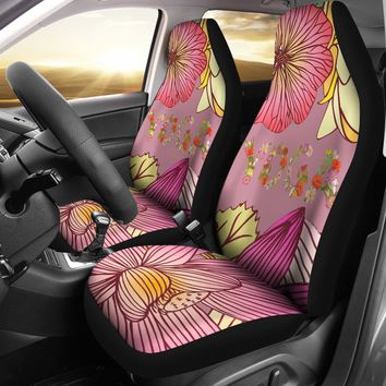 Floral Yoga Car Seat Covers