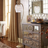Swirls & Drops Floor Lamp - Gold$179.99$199.00