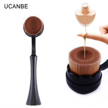 makeup brushes maquiagem pincel maquiagem fur brush Makeup make up Tool Cosmetic Cream Powder Blush portable cosmetic brush