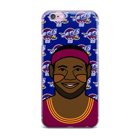 """Will Wild """"Lebron James"""" Basketball iPhone Case"""