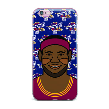 "Will Wild ""Lebron James"" Basketball iPhone Case"