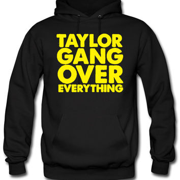 taylor gang over everything yellow hoodie