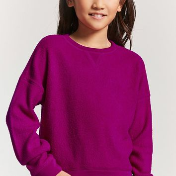 Girls Fleece Sweatshirt (Kids)