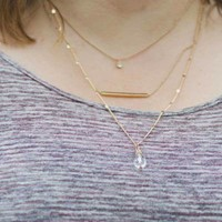 Dew Fall Necklace Set