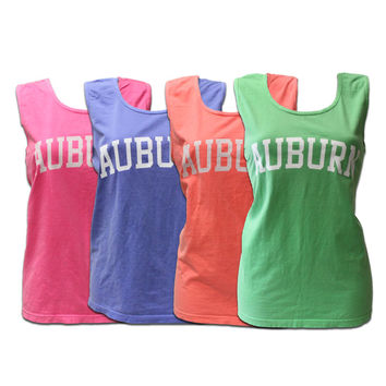 Tank, Comfort Colors Auburn | Auburn University Bookstore