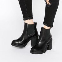 New Look | New Look Chunky Heeled Boot at ASOS
