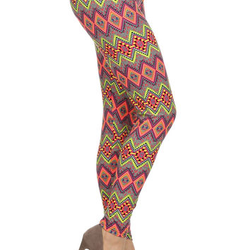 Always Cheeky Colorful High Waist Leggings - Tights For Women