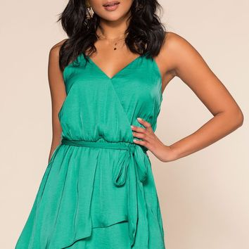 Heather Dress - Sea Green