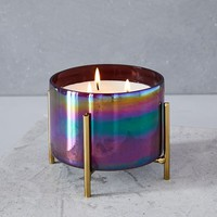 Caged Glass Candle - Extra Large