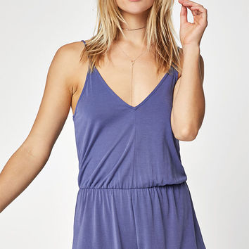 LA Hearts Knit Braided Back Romper at PacSun.com