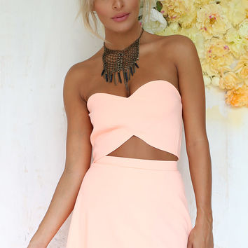 Peach Amor Top | SABO SKIRT
