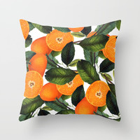 The Forbidden Orange #society6 #decor #buyart Throw Pillow by 83 Oranges™